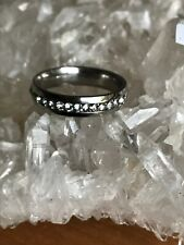 Cubic Zirconia Ring Size V Magical Item