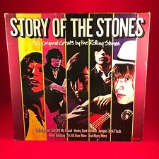 ROLLING STONES Story Of The 1982 UK DOUBLE VINYL LP Record EXCELLENT CONDITION B