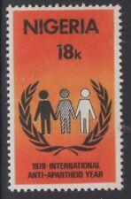 NIGERIA SG392 1978 ANTI APARTHEID YEAR MNH