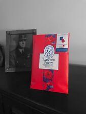 Greenleaf Large Scented Sachet Envelope Painted Poppy Royal British Legion