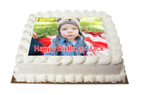 Details about  /Mack Truck Cake Toppers Edible Icing Image Birthday Cake Decorations #1