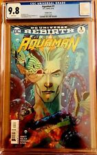 Aquaman #1 Cgc 9.8 Middleton Variant Cover 2016 - 1St Print, Sold Out Print!