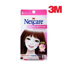 Genuine 3M Nexcare Blemish Clear Cover Acne Pimple Cover Patch - 6 EA