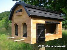 ORIGINAL WILDLIFE GARDEN Vogelhaus FUTTERSCHEUNE Multiholk Futterhaus natur