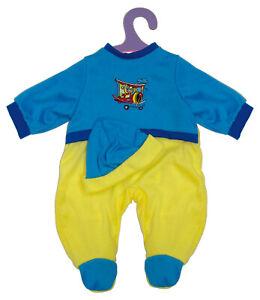 Puppendress  Puppenkleidung Shirt Hose Anziehsachen für 46 cm Baby Puppen  B2110