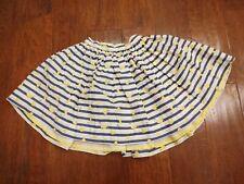 NWOT Okaidi Reversible Girls Twirl Skirt Size 10y