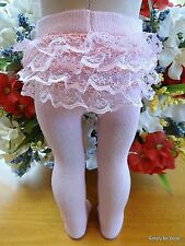 """PINK RUMBA Doll TIGHTS / STOCKINGS fits 15"""" & 18"""" AMERICAN GIRL Doll Clothes G/Z"""