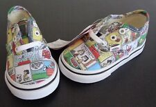 VANS Comic Strip PEANUTS Toddler size 5 Shoes NEW No Box Charlie Brown Halloween