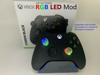 Brand New Xbox One Series X S Controller w Color changing RGB LED mod