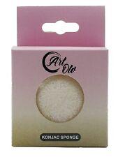 ArtOlo Konjac Bath Face & Body Skin Care Charcoal Sponge - 1pcs - White