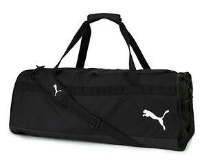 Puma Team Goal 23 Duffel Large Bags Run Sports Black Casual Bag Sacks 07686203