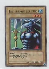 2002 Yu-Gi-Oh! Legend of Blue Eyes White Dragon LOB-033 The Furious Sea King 0b4