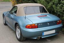 BMW Z3-Nuovo Beige Mohair Cappuccio con schermo posteriore in plastica