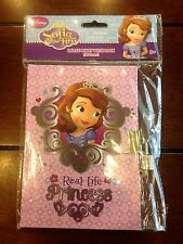 Disney Sofia The First Children's Large Diary Journal With Lock & Keys 45 Sheets