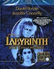 Blu Ray LABYRINTH Dove Tutto e' Possibilile (1986) ** Special Edition ** ..NUOVO