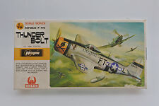 HASEGAWA 1/72 JS-094 U.S. ARMY WWII REPUBLIC P-47D THUNDER BOLT FIGHTER KIT
