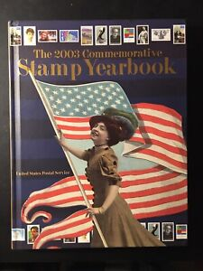 2003 US Commemorative Stamp Yearbook W/Stamps Mounted, MNH