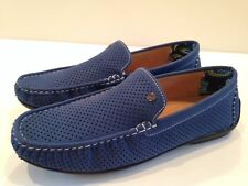 Stacy Adams Pax Driving Loafer (615) Blue 24941 Size 7.5