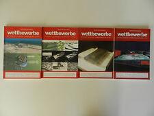 4 Hefte Wettbewerbe Architekturjournal Architektur Zeitschrift Magazin