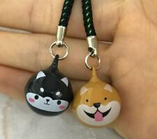 10PCS/lot cute dogs head mix Cell Phone Charm Strap JINGLE BELLS Dangle Figures