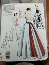Retro Sewing Pattern Vogue Vintage Model 2239 Dress, Belt & Sash sz 8