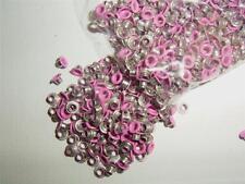 """1/8"""" eyelets BRIGHT PINK pk of 50 round scrapbooking craft eyelet card making"""