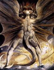 Poster-Matrimonio De Cielo Y El Infierno-William Blake 1805 (Cuadro Pintura Arte)