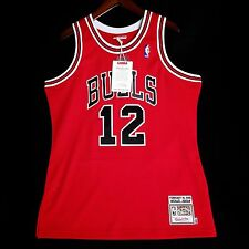 100% Authentic Michael Jordan Mitchell Ness #12 Jersey Size 36 40 44 48 52 56