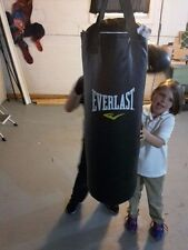 Everlast Punching bag black