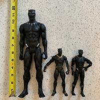 Hasbro Marvel Black Panther Action Figure Lot Of 3! 2017 EUC