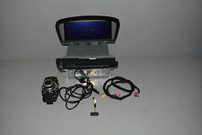 BMW E60 E61 CIC NAVIGATION SYSTEM WITH HARD DISK LED MONITOR DVD PLAY E60 E61