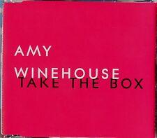 AMY WINEHOUSE * TAKE THE BOX * UK 1 TRK PROMO * HTF! * FRANK