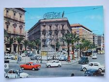 CATANIA Piazza Stesicoro Fiat 500 vecchia cartolina