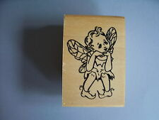 CREATIVE IMAGES RUBBER STAMPS CISTAMPS GIRL PIXIE FAIRY STAMP