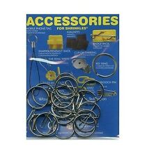 13 KEYRING & HOOKS ACCESSORY PACK FOR SHRINK ART MAKE YOUR OWN SHRINKLES CRAFT