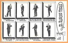 "Vintage Joe E. Lewis Lili St. Cyr El Rancho Las Vegas 5"" x 8"" Postcard Handbill"