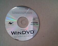 WinDVD Intervideo : Toshiba Satellite 1800 : Windows XP