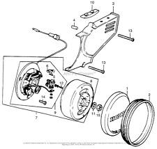 NOS 1974-75 Honda MR50 Elsinore Oil Felt Assembly 30205-131-004