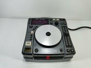 Denon DN-S1000 CD Changer DJ Mixer For Parts or Repair