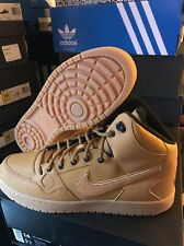 Nike Son of Force Mid Winter Athletic Boots Wheat/Gum 807242-770 Shoes Sz 14
