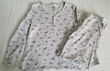 dabafc54933a Croft & Barrow 2 Piece Knit Pajama Set Lounge Pants & Long Sleeve Shirt  Birds