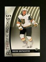 2017-18 SP Game Used #95 Vadim Shipachyov/87 TRUE RC