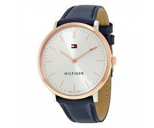 Tommy Hilfiger Original 1781689 Womens Sophisticated Sport Blue Leather Watch