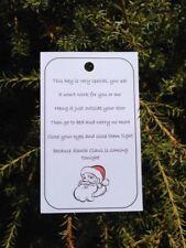 10 x Santa's Magic Key Tags, Christmas Eve Magic, Labels, Fundraising Fetes