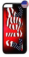 New Year 2017 USA American Flag Case Cover For iPhone 7 6 6s Plus 5 5s 5c 4s