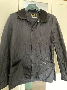 Mens Barbour Black Quilted Jacket Medium
