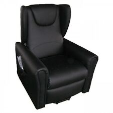 Poltrona relax alzapersona lift vibromassaggio riscaldamento reclinabile 2motori
