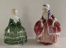 """Vintage Royal Doulton """"Belle"""" & """"Goody Two Shoes"""" Figurines"""