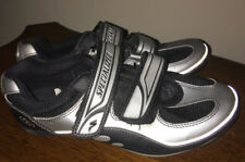 Specialized cycling Shoes Euro 41 Reflective Silver Black Uk 7 Velcro Fasten