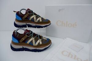 Chloe Trainers Size 39 Uk 6 Box Dust Bag Rrp £510 Sneakers Immaculate Condition